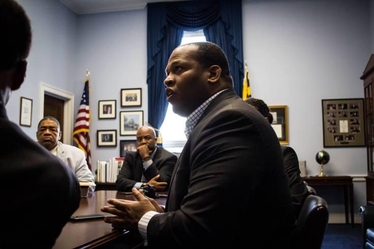 Speaking to congressman